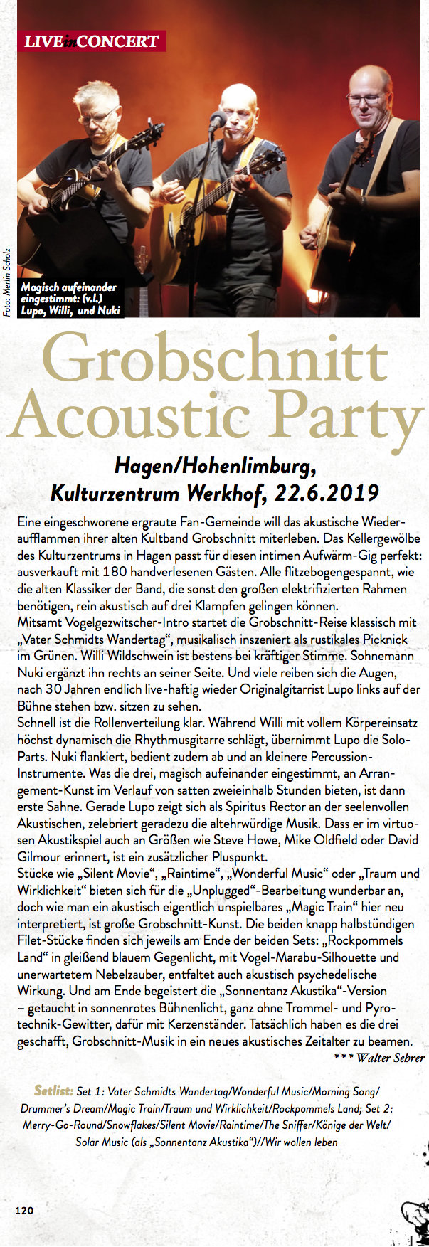 Grobschnitt Acoustic Party eclipsed 09 19 half